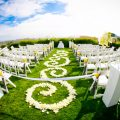Wedding aisle - Brett Charles Rose Photo