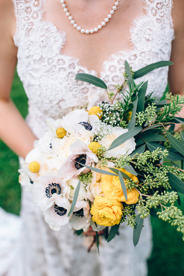 Wedding bouquet - Sowing Clover Photography