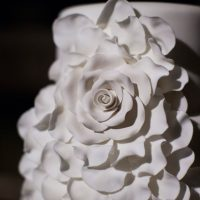 Wedding cake details - Noble Photography
