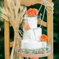 Wedding cake - L'Estelle Photography