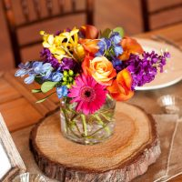 Wedding centerpiece - Jack Looney Photography