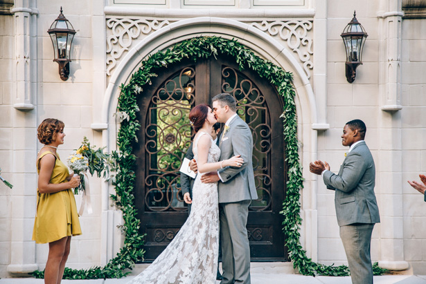 A Castle Wedding in the Middle of the Woods