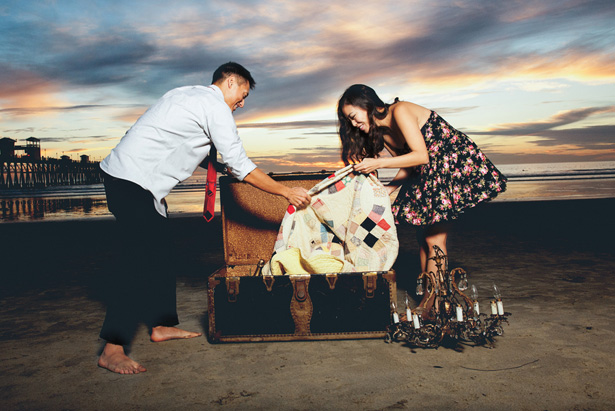 Beach Engagement Session - London Light Photography
