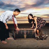 Beach Picnic Engagement Session - London Light Photography