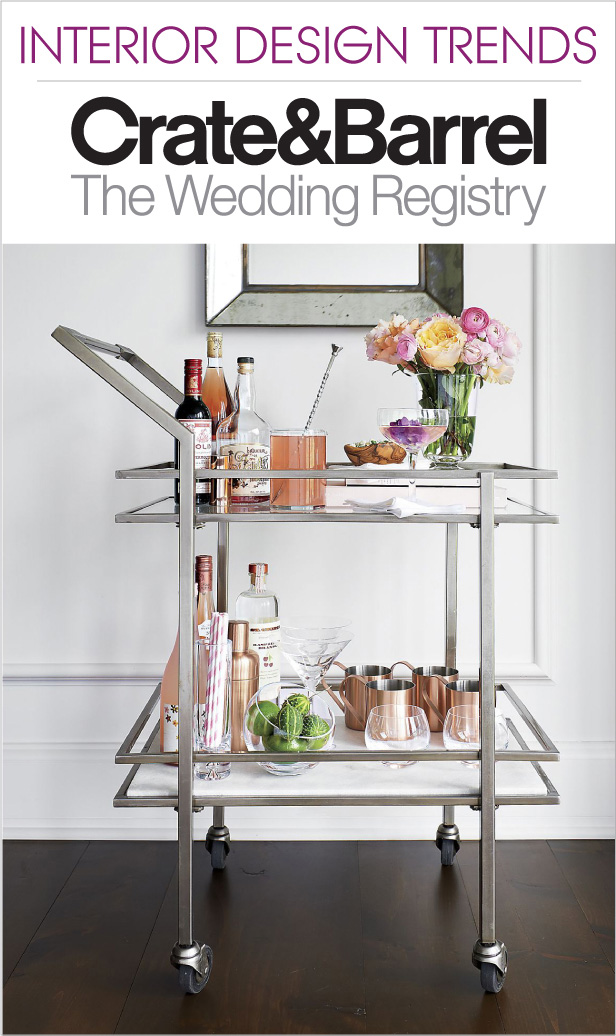 The Hottest Interior Design Trends for your Wedding Registry