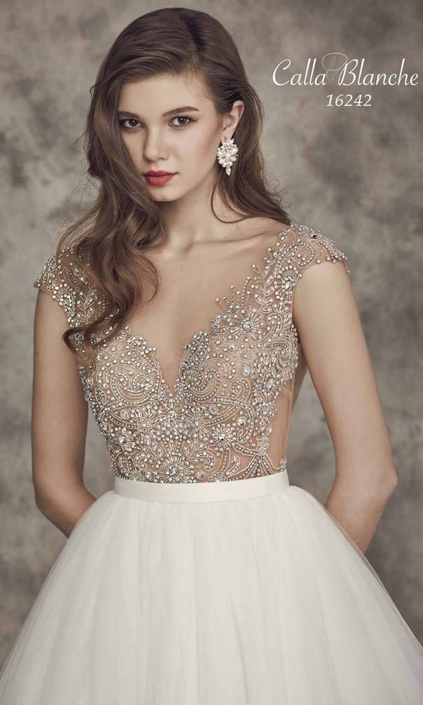 Calla blanche fall 2016 bridal collection belle the magazine for Wedding dresses near me cheap