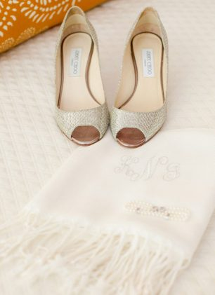 Bridal shoes - Clane Gessel Photography