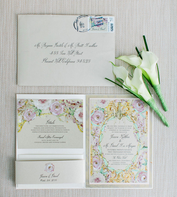 Wedding invitation - Clane Gessel Photography