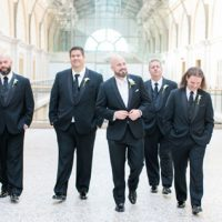 Groomsmen photo idea - Clane Gessel Photography