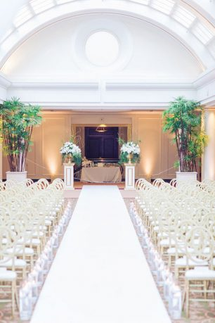 Wedding aisle - Clane Gessel Photography