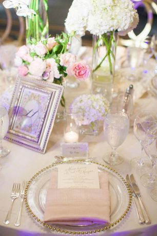 Wedding place setting - Clane Gessel Photography
