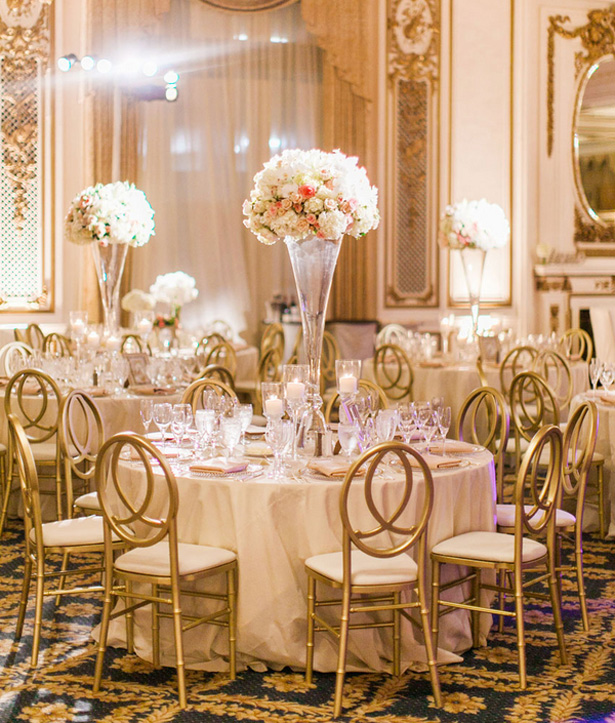 Golden Glamour Wedding in California