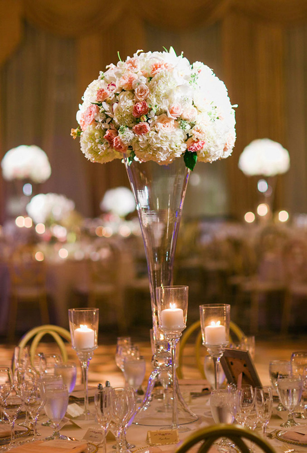 Wedding centerpiece - Clane Gessel Photography