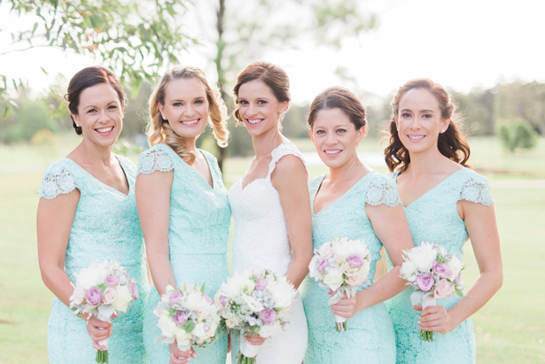 Pastels Bridal Party - Mario Colli Photography