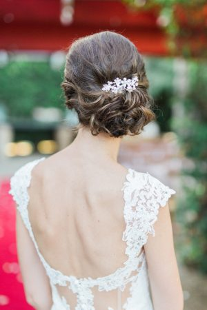 Bridal updo - Mario Colli Photography