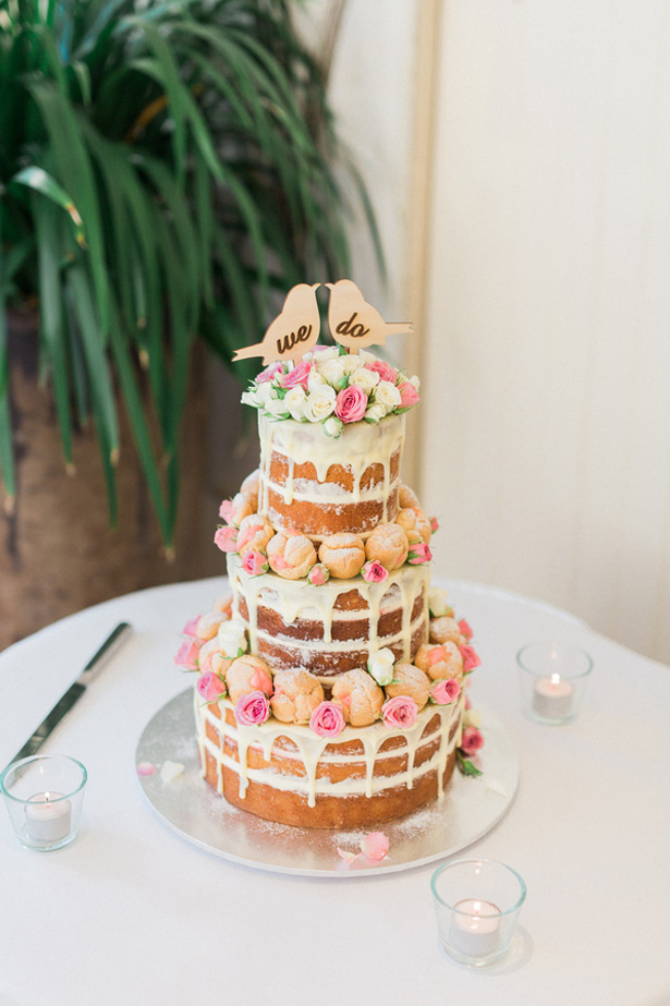 Nacked wedding cake - Mario Colli Photography