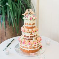 Colorful wedding cake -  Mario Colli Photography