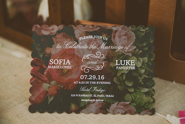 Shutterfly Wedding Invitation - Cristina Navarro Photography