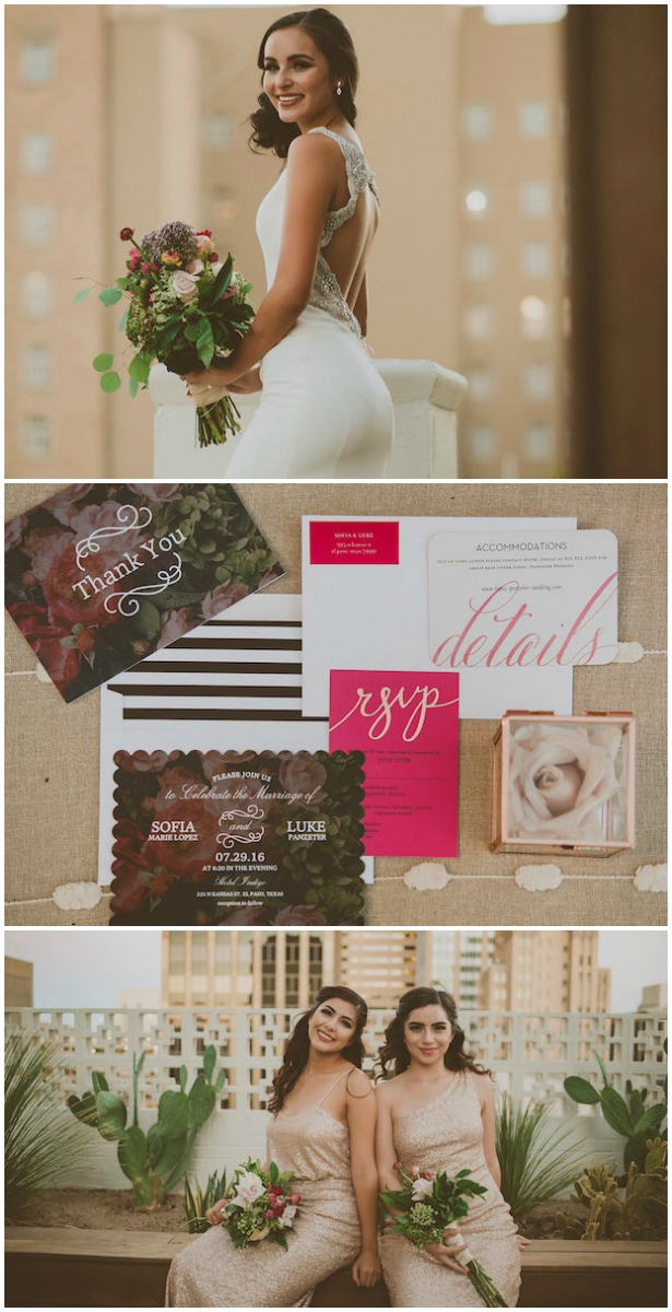 SoCal inspired Wedding Styled Shoot With Dreamy Paper Details Galore!