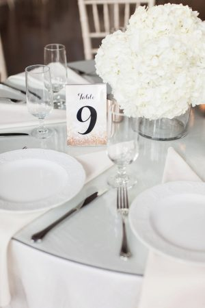 Wedding Table Number- Leigh+Becca Photography