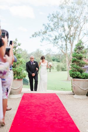 Walkind down the aisle - Mario Colli Photography
