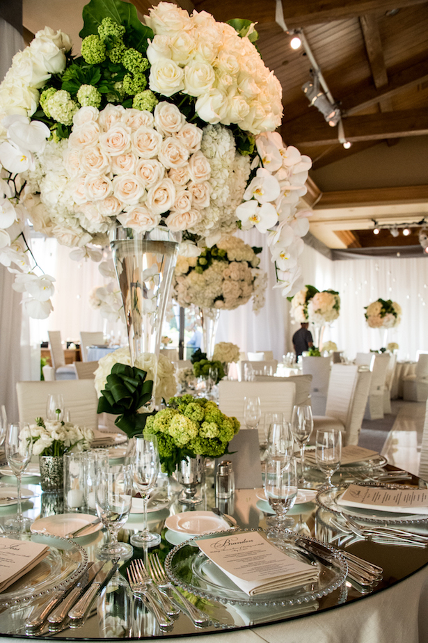 Wedding Centerpiece - Photographer: John Solano