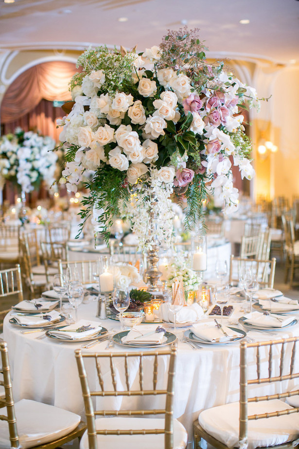Wedding Centerpiece - Jessica Claire Photography