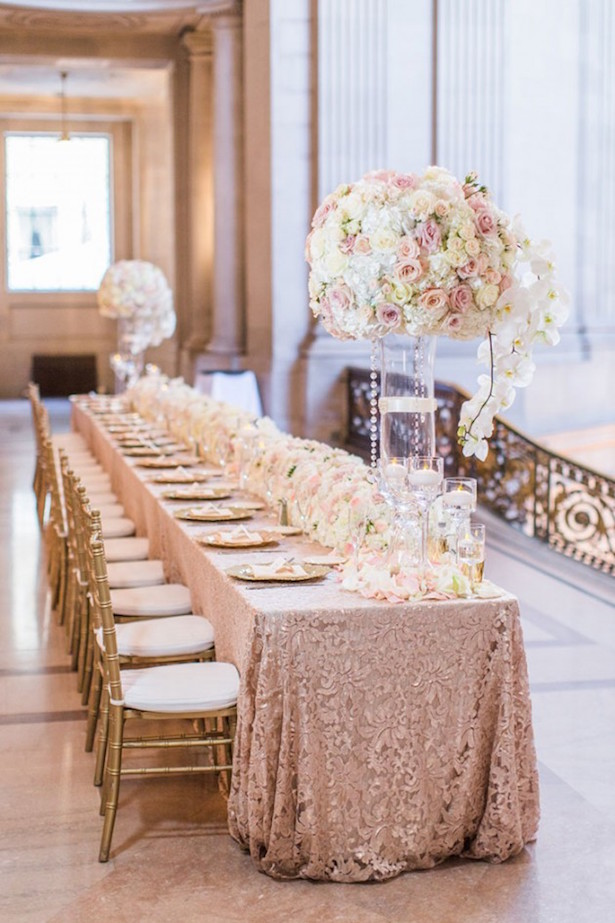 Wedding Tablescape - Blueberry Photography