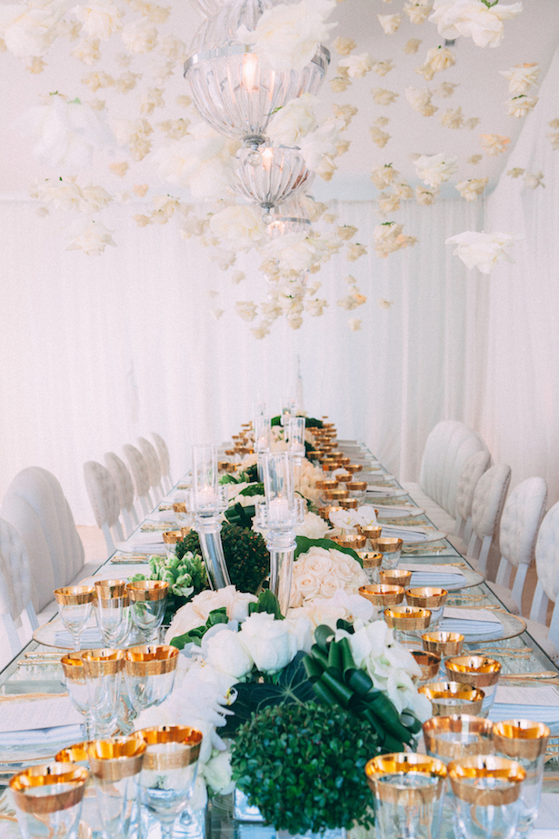 Wedding Tablescape - Photography: Abby Ross
