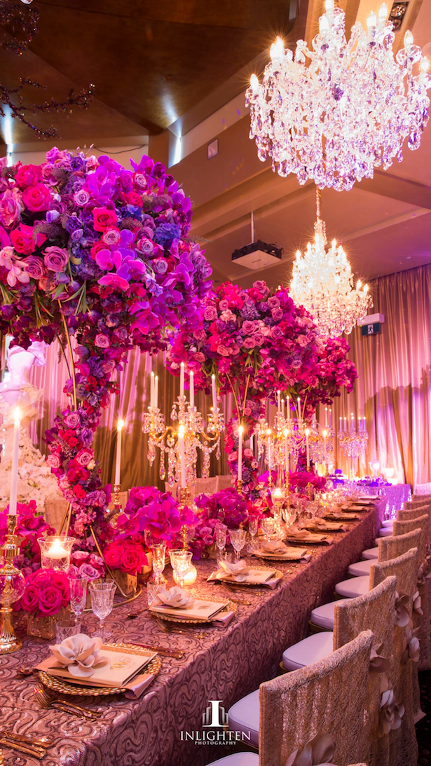 15 fabulous wedding tablescapes belle the magazine for Table decor international inc