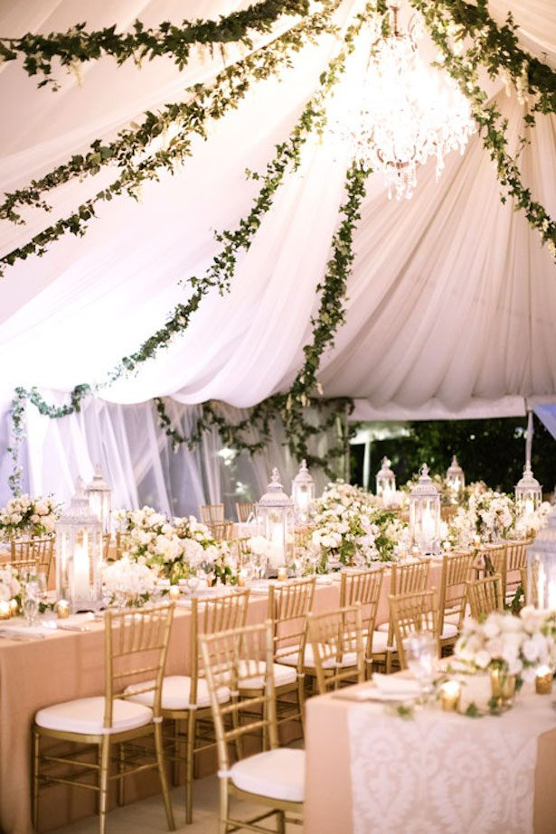 Wedding Tent Decorations - via Nordstrom
