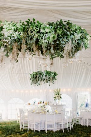 Wedding Tent Decorations - Shannon Michele Photography