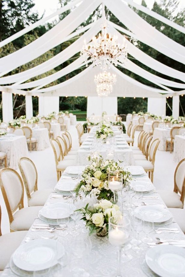 Wedding Tent Decorations - Britt Chudleigh PHotography & Wedding Tent Ideas That Will Leave You Speechless - Belle The Magazine