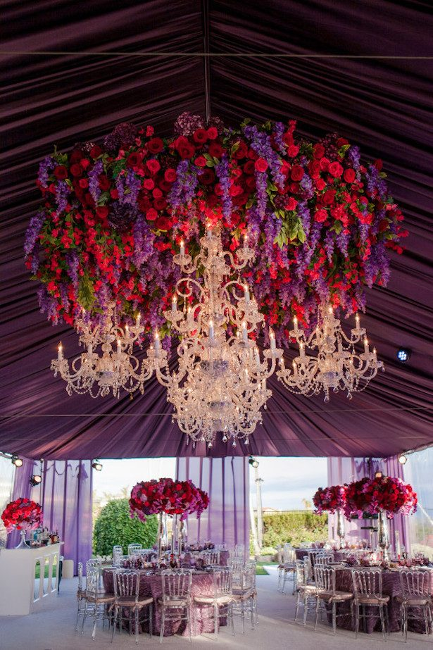 Wedding Tent Decorations - Photo: Michelle Mosqueda