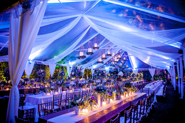Wedding Tent Decorations -Photographer: Kane and Social