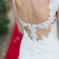 Wedding dress details - Mario Colli Photography