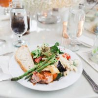 Wedding food - Leigh+Becca Photography