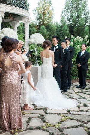 Outdoors wedding ceremony - Leigh+Becca Photography
