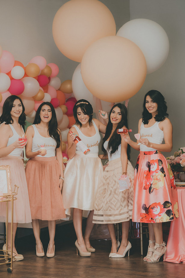 Will You be my Bridesmaid Party - Cristina Navarro Photography