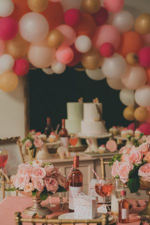 Yes Way Rose Bridesmaid Party- Cristina Navarro Photography