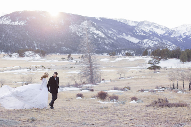 Winter wedding picture - Mathew Irving Photography
