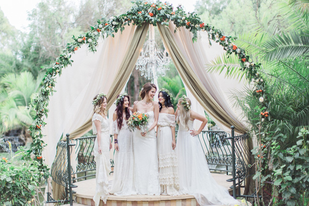 Bohemian Garden Wedding - Lucas Rossi Photography