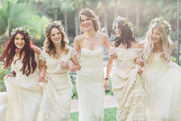 Boho Bridal Party - Lucas Rossi Photography