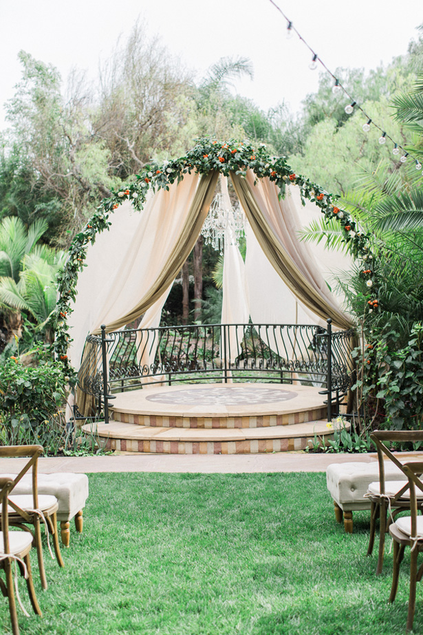 Wedding Ceremony Arch - Lucas Rossi Photography