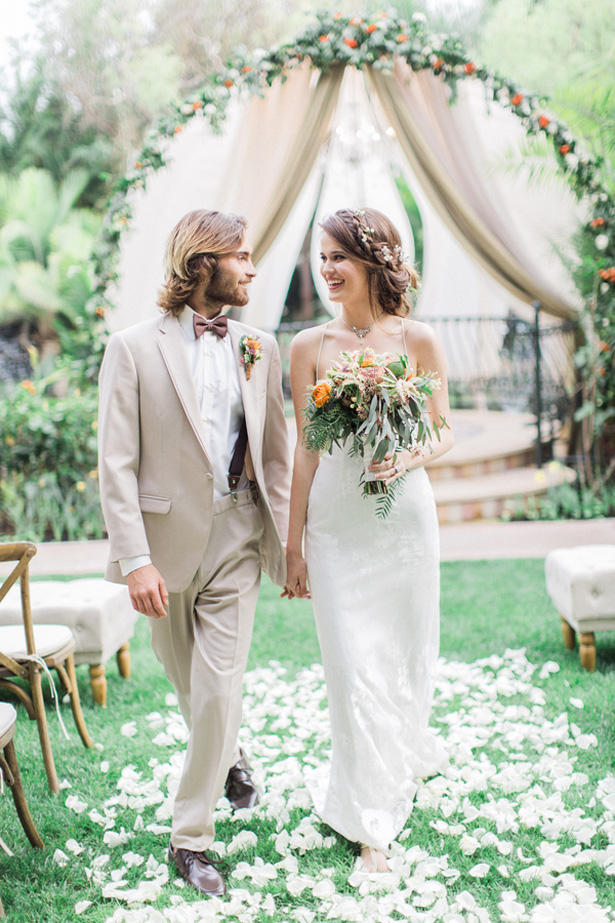 Beautiful Garden Wedding - Lucas Rossi Photography