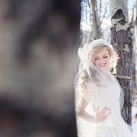 Bridal portrait - Mathew Irving Photography
