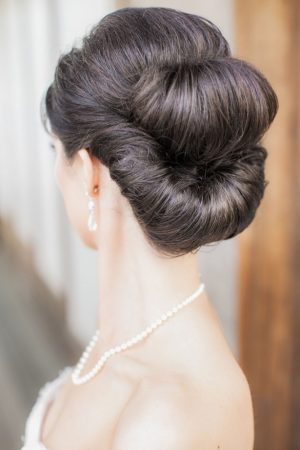 Bridal updo - Clane Gessel Photography