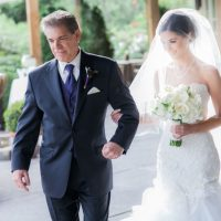 Bride walking down the aisle - Clane Gessel Photography