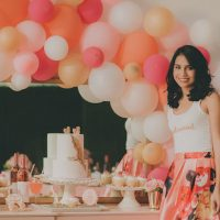 Bridal Shower Dessert Bar- Cristina Navarro Photography