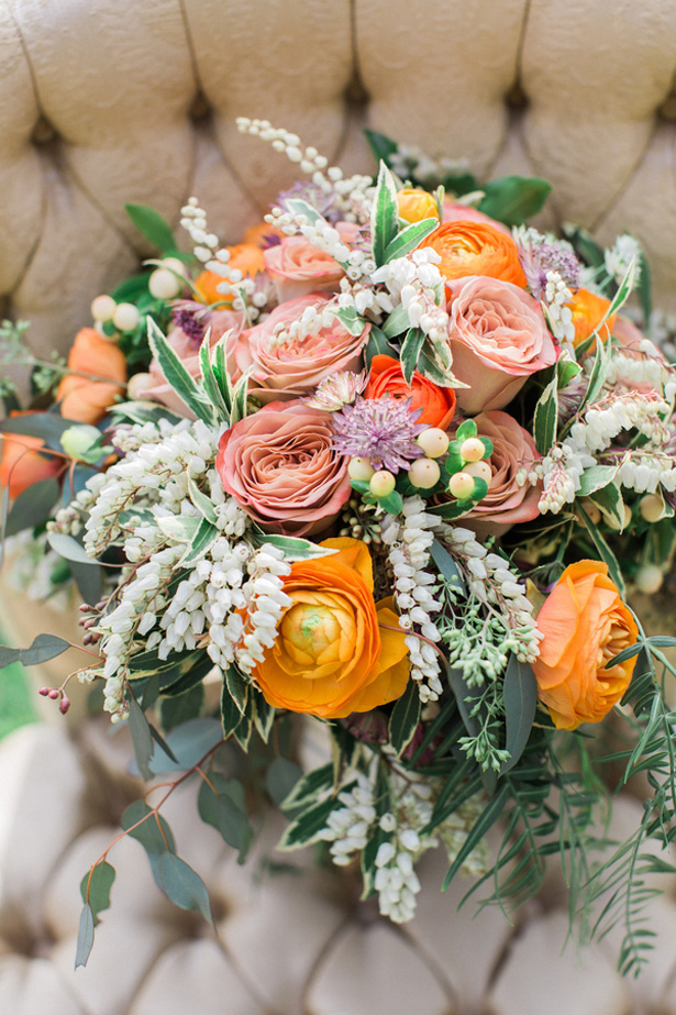 Wild Wedding Bouquet - Lucas Rossi Photography